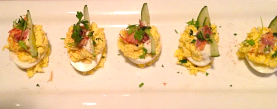Dishing Out Recipes: Deviled Eggs with Smoked Salmon