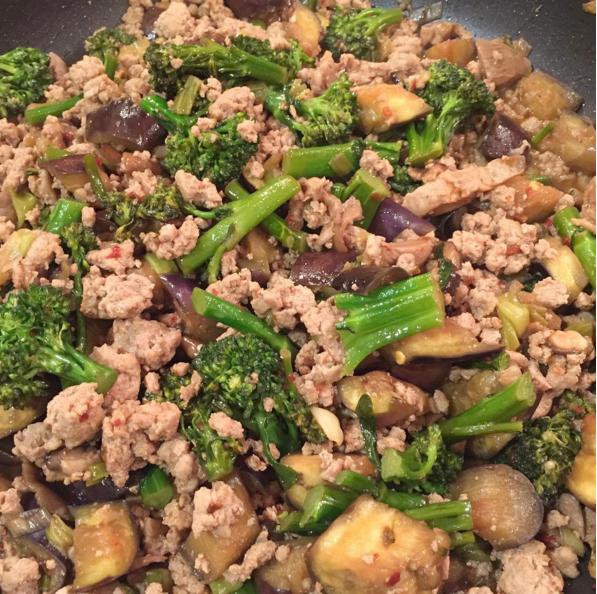 Dishing Out Recipes: Japanese Eggplant StirFry