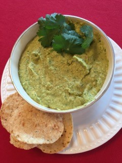 Dishing Out Recipes: Cilantro, Lime & Jalapeno Hummus